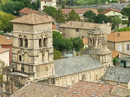 Eglise abbatiale de Cruas - Ardéche