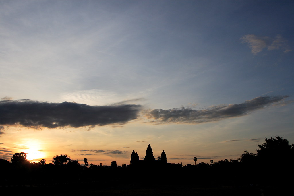 Sunrise of Angkor Wat~~