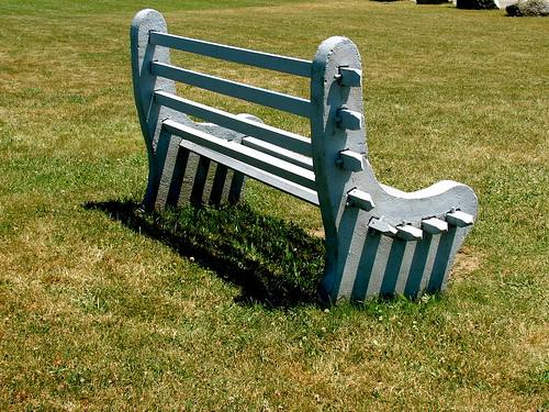 Bench in Cape Cod