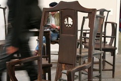 "documenta 12 | Ai Weiwei / chairs from the artwork ""Fairytale"" 
