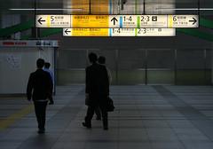 Tokyo 101 (tokyoform) Tags: city people urban signs station sign japan train subway 350d japanese tokyo asia mtro rail railway jr tquio   akihabara japo  japon salaryman yamanote tokio   yamanoteline   japn        jr japonya   nhtbn jongkind          chrisjongkind tuinngm  tokyoform