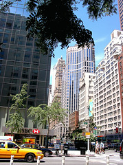 Third Avenue at E. 57th Street (Jim Lambert) Tags: nyc newyorkcity usa ny newyork architecture buildings us skyscrapers unitedstates manhattan 3rdavenue thirdavenue 3rdave east57thstreet ritztower e57thst 135e57thst july222007 135east57thstreet 07222007