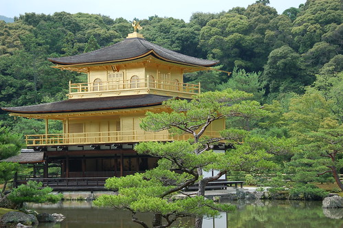 kinkakuji - the golden pavillion