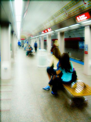 Waiting On The Subway