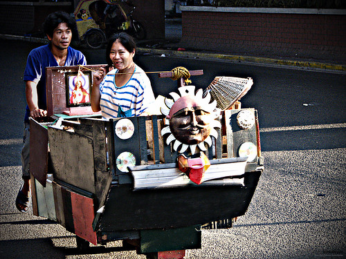 Pedro Gil Taft, Manila cariton Kariton transport in the city push cart Pinoy Filipino Pilipino Buhay  people pictures photos life Philippinen  菲律宾  菲律賓  필리핀(공화국) Philippines
