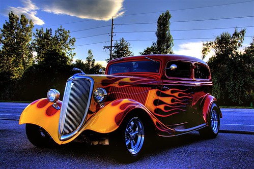 hot cars pictures. Flaming Hot Car