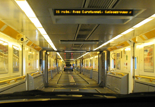 Eurotunnel - Inside