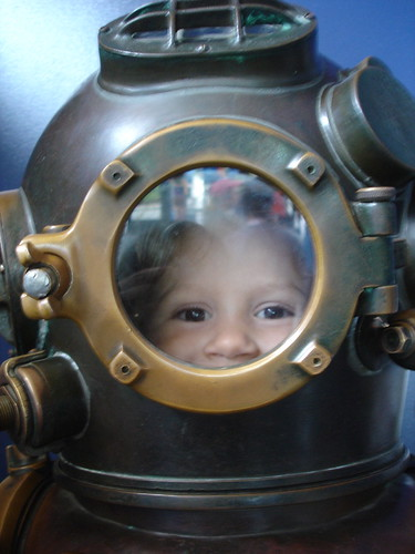 8/22/07 Diving Helmet