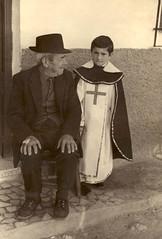 Manuel en su primera Comunión