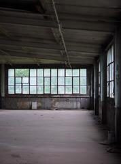 (Sameli) Tags: windows light urban abandoned window germany hall factory space empty exploring dust exploration ue eisenach urbex autio hylätty
