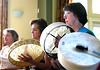 Hand Drum Line
