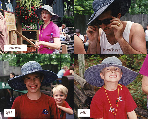 Floppy Hat Collage