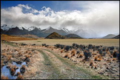 High country (Daniel Murray (southnz)) Tags: newzealand cloud mountain snow storm station landscape scenery track farm nz southisland range highcountry craigieburn specland abigfave southnz
