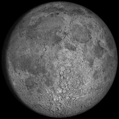Moon Phase: The waxing gibbous, 12.8 day old moon, 95.5% lit