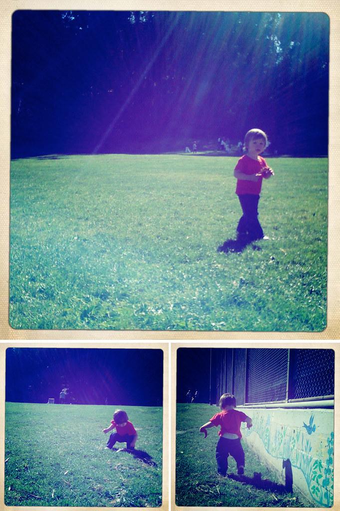 jacky: park triptych