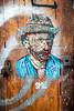 Smile (dprezat) Tags: smile vincent vangogh paris streetart street art graf tag pochoir stencil peinture aerosol bombe painting urban nikond800 nikon d800