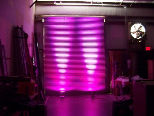 Led Multicolored Light Fixture Rental