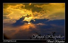 A cloudy morning.. (Vinod Khapekar) Tags: morning light cloud sun nature naturesfinest 18200mm d90 nikor nikond90