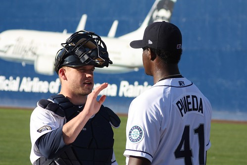 Michael Pineda and Adam  Moore