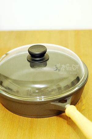 木柄深炒鍋28公分含玻璃鍋蓋