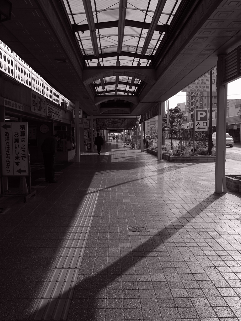 Akashi Ginza shopping street