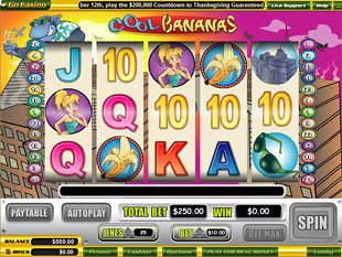 Cool Bananas slot game online review