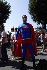 Superman against Bush (fonsico) Tags: people italy rome roma delete10 delete9 delete5 delete2 bush italia gente delete6 delete7 delete8 delete3 delete delete4 save superman persone antibush montenegro manifestation 2007 nikond80 fonsico