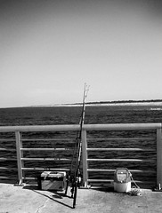 FishingPoleB&W