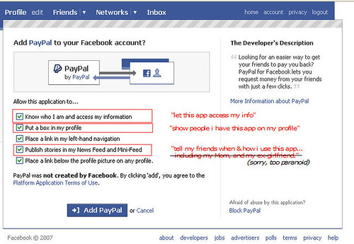 Facebook App Checkbox Defaults: These Aren't The Droids You're Looking For... Move Along... Move Along.