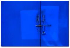 Kinds of blue (jurek d.) Tags: door blue color gate entrance singintheblues d80 jurekd