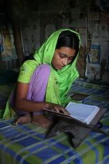 reading Qura'an (janchan) Tags: portrait kids children reading book asia village veil retrato muslim islam documentary libro hut ritratto lettura bangladesh quraan reportage koran leggere savethechildren corano nasirnagar whitetaraproductions sfidephotoamatoriwinner