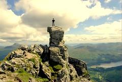 Job done !!king of the mountain (Nicolas Valentin) Tags: me scotland scenery cobbler hillwalking flickrsbest challengeyouwinner mywinners nicolasvalentin anawesomeshot impressedbeauty theunforgetablepictures