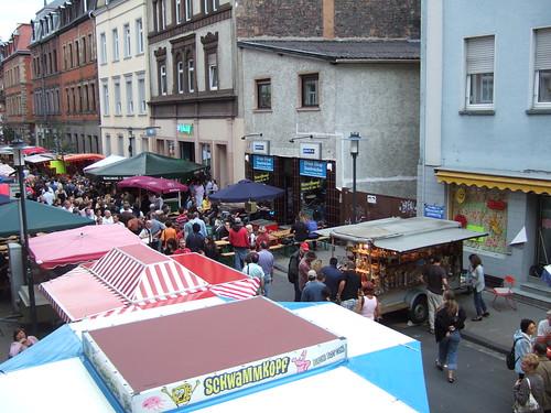 Nauwieser Fest 2007 - das allerste Foto