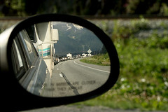 Long Line of Traffic - Back