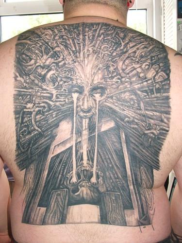 Original Temporary Tattoos: hr giger tattoo H.r. Giger Tattoo