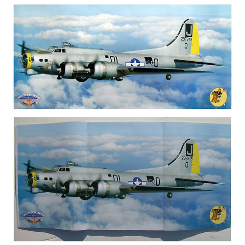 B17 before & after