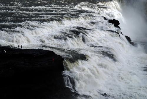 El atronador rugido de Gullfoss. Por Islandia (20)