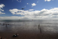 Historic flypast at Dawlish Festival