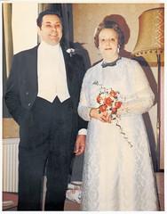 Sunday Snapshot ~ Mum & Dad 1970's (Chalkie_CC) Tags: england kent best flashback only 1970s photoshopcs2 mumdad ladiesnight chalkiecc onlythebestare