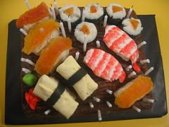 lawrence's sushi chocolate cake of awesomeness