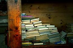 Books have their own destiny (jelens) Tags: barcelona books secondhandmarket santoni habentsuafatalibelli