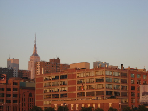 Empire State Building, Chelsea At Sunset
