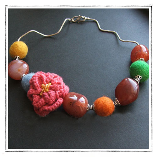 Thai blossom necklace : Asian iCandy Store, Unique Asian Arts and Gifts From Independent Artists :  necklace jewelry asian icandy store blossom