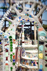 Watts Towers inside