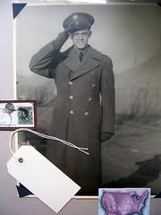 William, WW2 (greaterumbrage) Tags: old family bw history soldier army war uniform grandfather ww2 worldwar