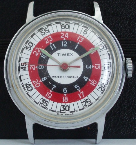 Timex 1972 24 Hour Roulette Wheel Sprite