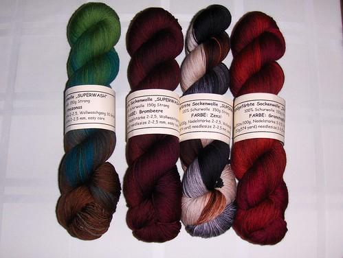 Wollmeise Handgefarbte Sockenwolle