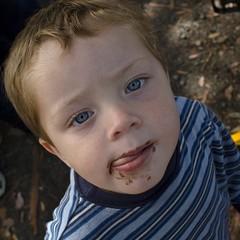 Chocolate face