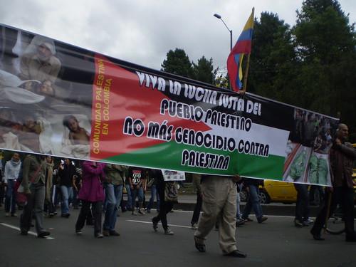 Marcha apoyo a Palestina / Gaza en Bogotá, Colombia - 20090106 - 1061724