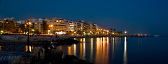 Poseidonos Avenue (eliaslar) Tags: sea night coast athens greece  attiki